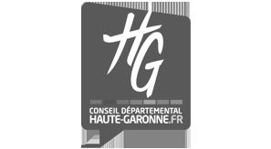 Logo du Conseil Départemental de la Haute Garonne